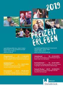 Plakat der Freizeiten für Menschen mit Behinderungen